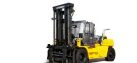 Hyundai Construction Equipment lanza su carretilla elevadora todo terreno 160D-9L