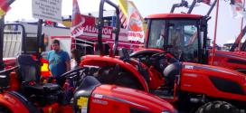 Por primera vez los tractores Kioti y Solis en Salamaq