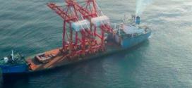 Grúas STS de SANY  llegan a COSTA RICA de la mano de con JAPDEVA