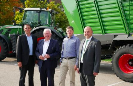 Primera visita oficial de gerencia de AGCO y Fendt  a Waldstetten y Wolfenbüttel