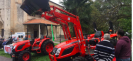 Los tractores Solis y Kioti en la Feria de Salvatierra 2017