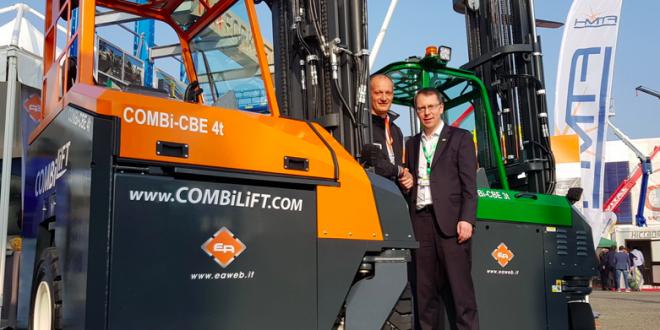 COMBILIFT lanza una nueva carretilla eléctrica multidireccional de 4000 kg de capacidad