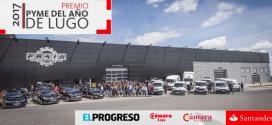 """Recambios Frain recibe el premio """"Pyme del año"""" de Lugo"""