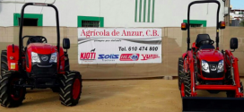 Tractores Kioti  en la semana del caballo de carmona
