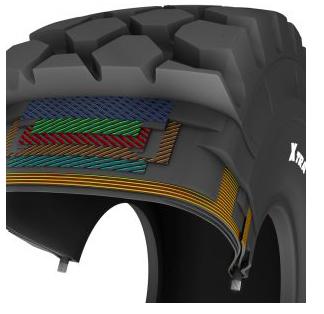 Nuevo neumático para dumpers articulados MICHELIN X®TRA DEFEND