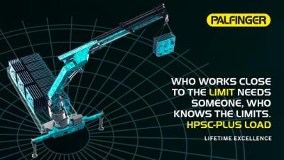 PALFINGER  presenta el nuevo sistema de control de estabilidad HPSC-Plus LOAD