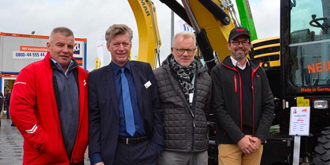 Premiere para maquinas Yanmar en el Nordbau 2017
