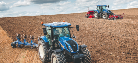 New Holland T6.175 Dynamic CommandTM  logra el premio Machine of the Year 2018
