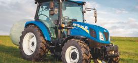 Novedosa serie de tractores T4S de New Holland