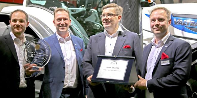 Valtra gana los premios Tractor of the Year 2018 y Best Design 2018 en Agritechnica