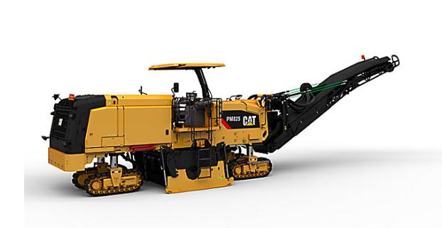 Caterpillar presenta las perfiladoras de pavimentos en frío PM820, PM822 y PM825.