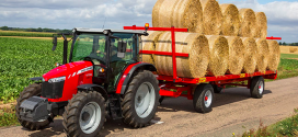Dos nuevos tractores de tres cilindros de Massey Ferguson