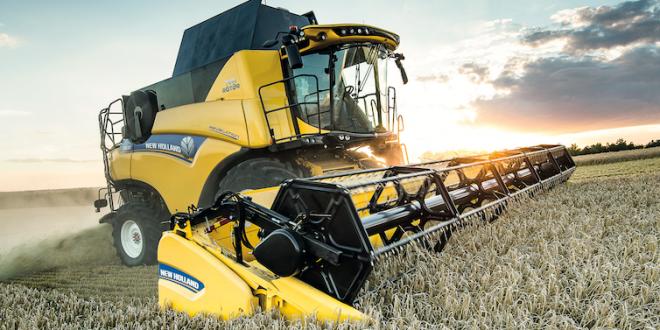 La cosechadora New Holland CR Revelation  eleva los estándares agrícolas