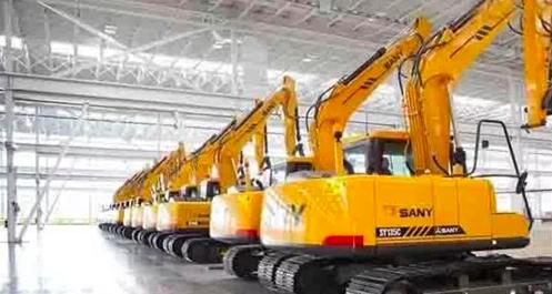 SANY Heavy Industry vende 22367 unidades de excavadoras en los primeros tres trimestres