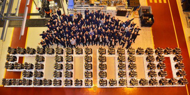 JCB alcanza la producción de las 500.000 unidades de su motor