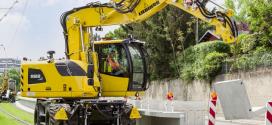 Liebherr expuso la excavadora A 922 Rail Litronic en AusRAIL Plus