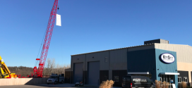 Manitowoc Cranes celebra la nueva ubicación de Kirby-Smith Machinery en Kansas City