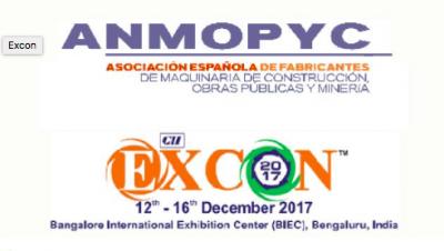 ANMOPYC participará en EXCON 2017