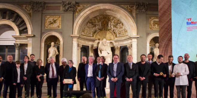 BIGMAT entrega el premio Arquitectura Internacional BIGMAT 2017