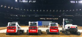 Maquinaria Bobcat en el circuito de supercross más grande de Europa