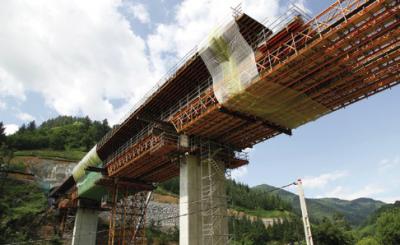 Sistemas de encofrado ULMA en Infraestructuras Alta Velocidad Ferroviaria