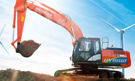 La nueva Excavadora Hitachi Híbrida  ZH210-6 presentada en Matexpo