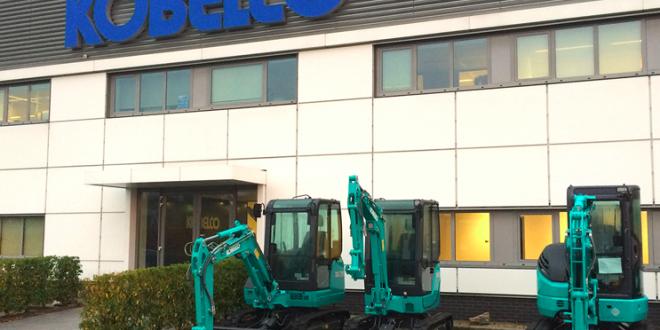 Kobelco Construction Machinery y Kobelco Cranes se fusionan en Europa