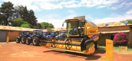 Entrega de productos de New Holland a GIZ