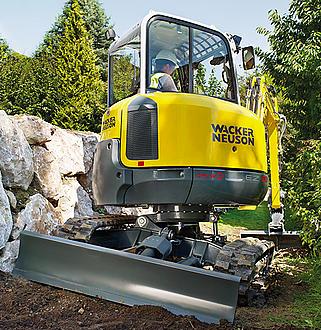 Tecnología para pendientes de la excavadora VDS de Wacker Neuson