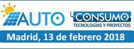 6ª edición de la jornada técnica Autoconsumo. Tecnologías y proyectos