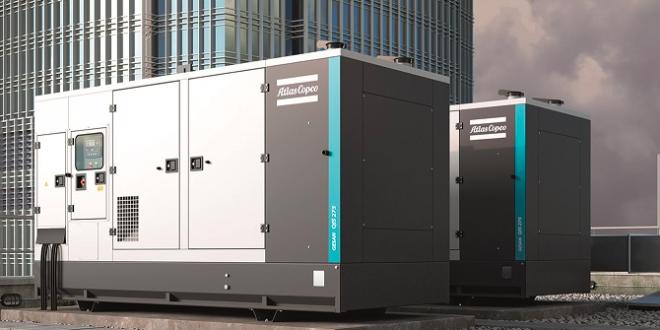 Atlas Copco amplía la gama de generadores QIS para ofrecer energía garantizada