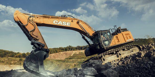 Excelente productividad y fiabilidad en el segmento de canteras de CASE en Intermat