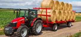 Modelos de 3 cilindros con transmisión Dyna-4 en la serie MF 5700 Global