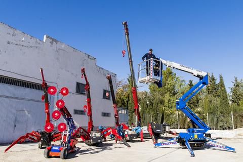 Spain Crane International propone una serie de equipos y utilidades de ocasión