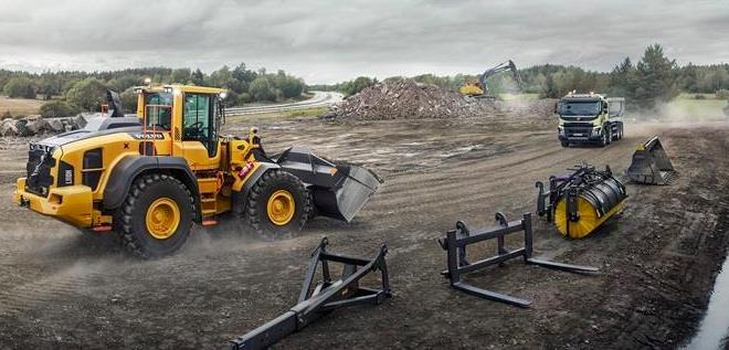 Volvo Construction Equipment presenta nuevas cargadoras de ruedas