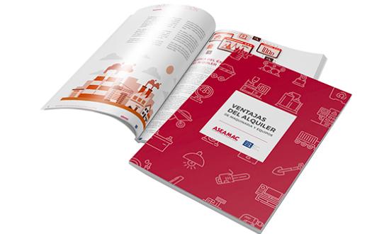 ASEAMAC presenta la Guía de ventajas del alquiler de maquinaria y equipos