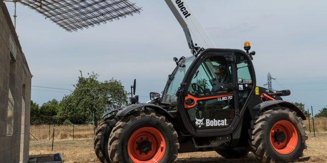 Estreno en Intermat del nuevo manipulador telescópico compacto Bobcat  TL30.70