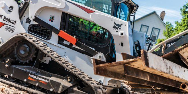 Bobcat presenta en Intermat nueva versión de la cargadora compacta de orugas T870