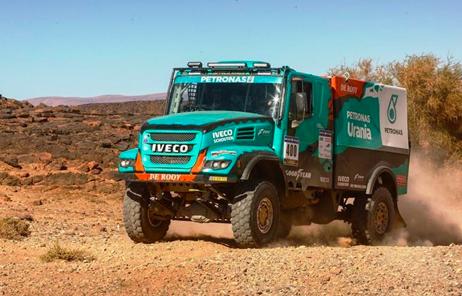 Equipo PETRONAS de Rooy IVECO en Africa Eco Race 2018