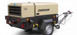 Nuevo compresor portátil 7/53R de Doosan en Intermat