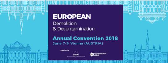 Convención Anual Europea de Demolición y Descontaminación 2018