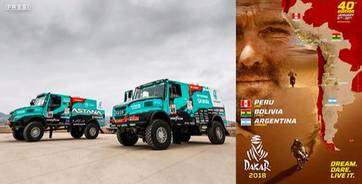 Fassi patrocina camiones IVECO del Rally Dakar