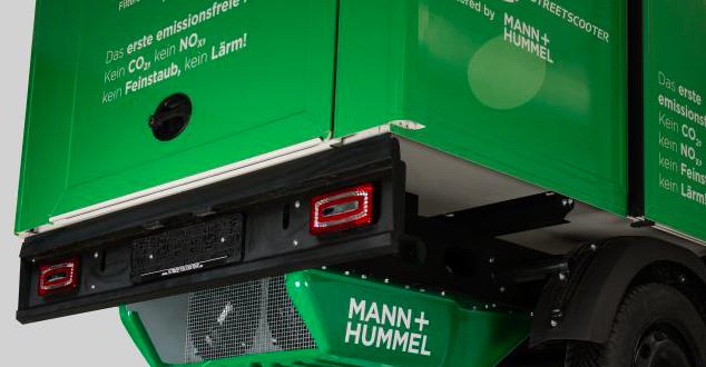 Grupo Deutsche Post DHL, StreetScooter y MANN+HUMMEL presentan el primer vehículo neutro en emisiones del mundo