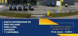 INAUGURACIÓN de las instalaciones de MANTO MAQUINARIA, nuevo distribuidor de NewHollandAG