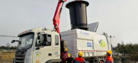 Fassi F110B.0.22 para recoger residuos en China