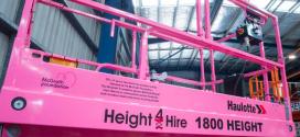Height 4 Hire celebra su máquina número 500 de Haulotte