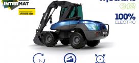 La excavadora 100% eléctrica MECALAC e12 en Intermat