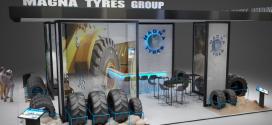 Magna Tyres Group estará presente en Intermat 2018