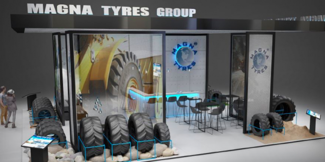Magna Tyres Group estará presente en Intermat 2018