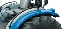 New Holland Agriculture presenta en FIMA 2018 una nueva versión con guardabarros rebajados